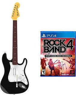 Mad Catz Rock Band 4 Wireless Guitar Bundle - PlayStation 4