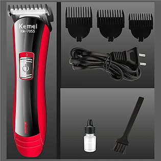 Kemei Hair Trimmer and Clipper (KM-7055)