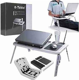 SweetShop E-Table Portable Laptop Table With Cooler Fan