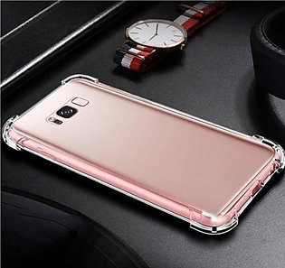 Pouch House TPU Transparent Silicone Bumper Back Cover For Galaxy J2 Core