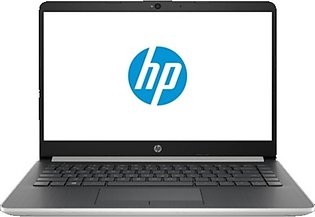 """HP Notebook 14"""" Core i3 8th Gen 4GB 500GB 128GB SSD Touch Laptop Silver (14-D..."""