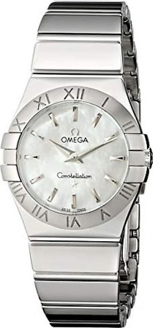 Omega Constellation Quartz Women's Watch Silver (123.10.27.60.05.002)
