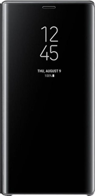 Samsung Clear View Standing Black Cover For Galaxy Note 9
