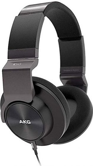 AKG K545 Over Ear Headphones Black