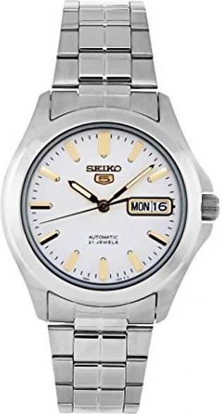Seiko 5 Men's Watch Silver (SNKK89)
