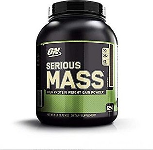 ON Optimum Nutrition Serious Mass Weight Gain Chocolate Protein Powder 2.72kg