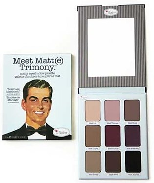 The Balm  Meet Matte Trimony Matte Eyeshadow Palette