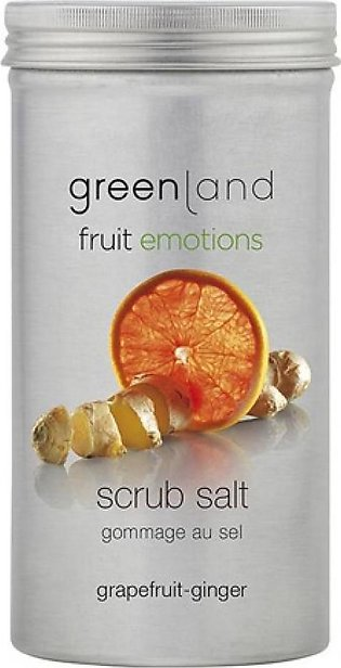 Greenland Bodycare Fruit Emotions Scrub Salt Grapefruit Ginger 400grm
