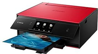 Canon TS Series PIXMA TS9020 Wireless Inkjet All in One Printer Red