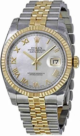 Rolex Datejust 36 Automatic Men's Watch Gold (116233MRJ)