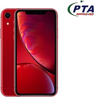 Apple iPhone XR 64GB Single Sim Red - Official Warranty