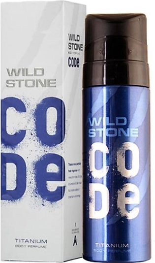 Kureshi Collections Wild Stone Code Titanium Body Spray For Men 120ml