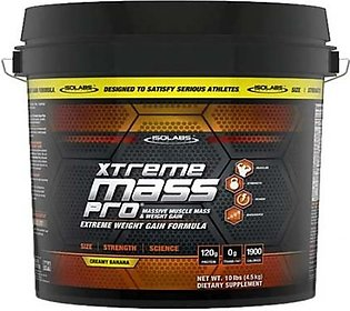 Isolabs Extreme Mass Pro Weight Gainer Supplement Creamy Banana 4.5kg