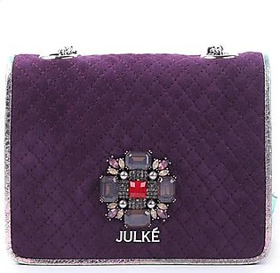 Julke Bella Women's Shoulder Bag Aubergine