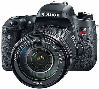 Canon EOS 80D DSLR Camera With 18-135mm Lens IS STM - MBM Warranty
