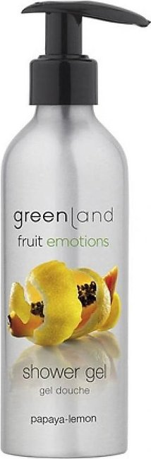 Greenland Bodycare Fruit Emotions Shower Gel Papaya Lemon 200ml