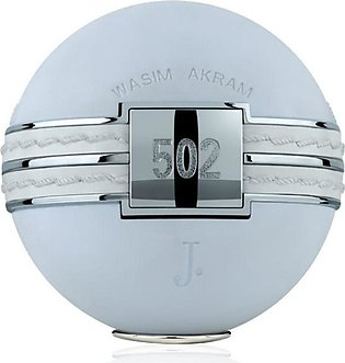 Junaid Jamshed Wasim Akram 502 Perfume For Men - 100ml