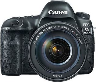 Canon EOS 5D Mark IV DSLR Camera with 24-105mm II USM Lens