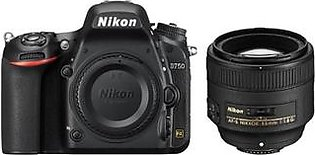 Nikon D750 DSLR Camera with 85mm f/1.8G Lens - Official Warranty