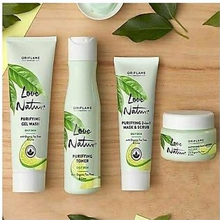 Oriflame Love Nature Skin Care Kit For Oily Skin