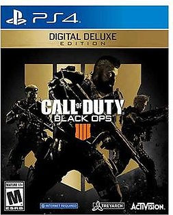Call Of Duty Black Ops 4 Digital Deluxe For PS4 - E-mail Delivery