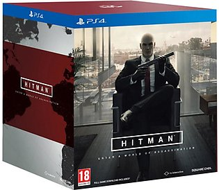 Hitman Collector's Edition Game For PS4