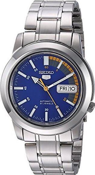 Seiko 5 Men's Watch Silver (SNKK27)