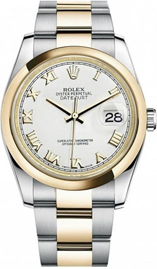 Rolex Datejust Men's Watch Yellow Gold (116203WRO)