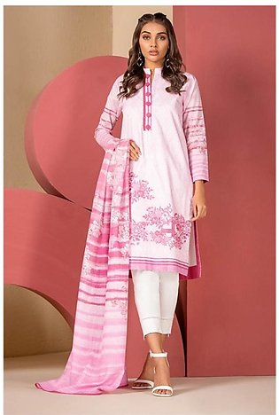 Al Karam Spring Summer Collection 2020 3 Piece (SS-8.1-20-Pink)