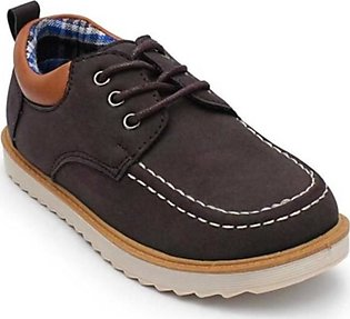 Servis TOZ Boat Shoes For Boys Brown (TO-SH-0022)