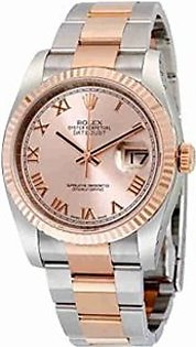 Rolex Oyster Men's Watch Rose Gold (116231PRO)