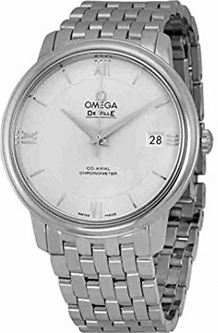 Omega De Ville Prestige Automatic Men's Watch Silver (424.10.37.20.02.001)