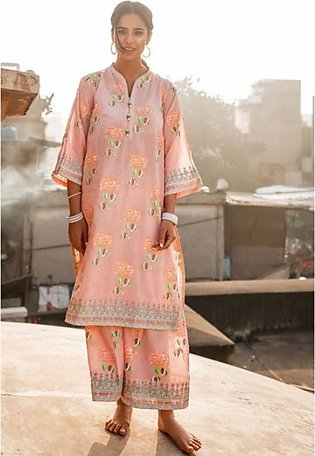 Gul Ahmed Vintage Garden Collection 2020 Unstitched Lawn 1 Piece (SL787)