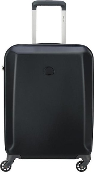 "Delsey Pilatus 4W 55"" Carry On Trolley Cabin Small Black (351280300)"