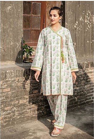 Gul Ahmed Vintage Garden Collection 2020 Unstitched Lawn 1 Piece (SL808)