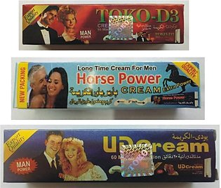 Online Butt Toko D3 With Horse Power And Ud Cream Pack of 3