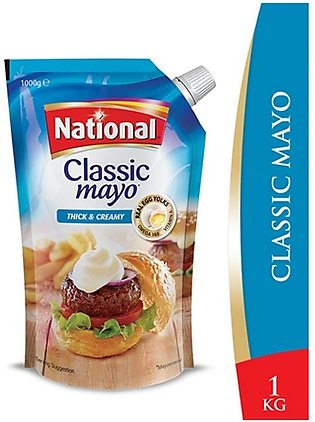 National Classic Mayo Thick & Creamy 1000ml