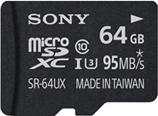 Sony 64GB High Speed microSDHC UHS-I Memory Card