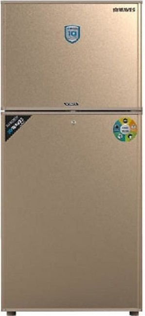 Waves Vista Freezer On Top Refrigerator 16 Cu ft Golden (WR-320)
