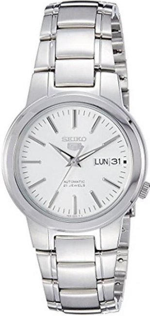 Seiko 5 Men's Watch Silver (SNKA01K1)