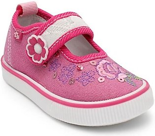 Servis TOZ Canvas Shoes For Girls Fuchsia (TO-IN-0121)