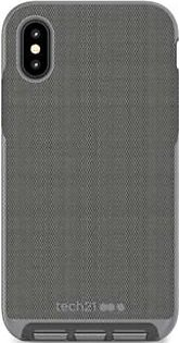 Tech21 Evo Luxe Woven Fabric Grey Case For iPhone X/XS