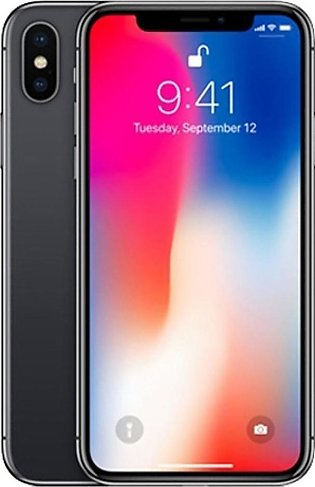 Apple iPhone X 64GB Single Sim Gray - Non PTA Compliant