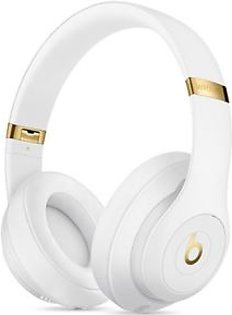 Beats Studio3 Wireless Bluetooth Over-Ear Headphones White