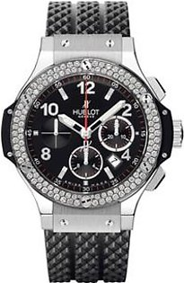Hublot Big Bang Diamond Automatic Men's Watch Black (341.SX.130.RX.114)