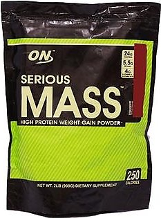 Optimum Nutrition ON Serious Mass Gainer 2Lbs 909g
