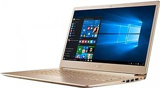 """Acer Swift 5 14"""" Core i5 8th Gen 8GB 256GB SSD Touch Laptop Gold (SF514-52T-52A8) - Without Warranty"""