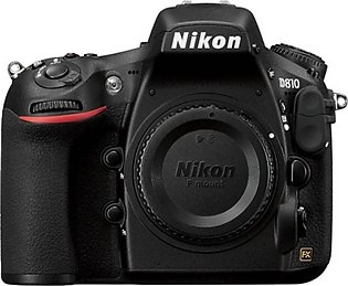 Nikon D810 DSLR Camera (Body Only) - Official Warranty