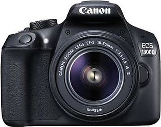 Canon EOS 1300D DSLR Camera with EF-S 18-55mm III Lens - International Warranty