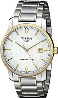 Tissot T-Classic Men's Watch Silver (T0874075503700)